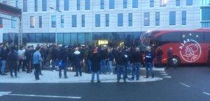 Feestelijke taferelen in de hoofdstad. Foto: ajaxlife.nl