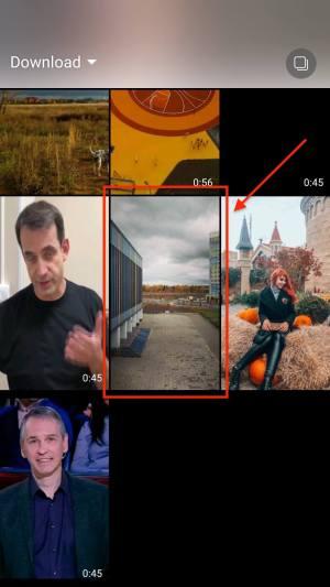 Как выложить готовое фото в Сторис - Выбираем фото