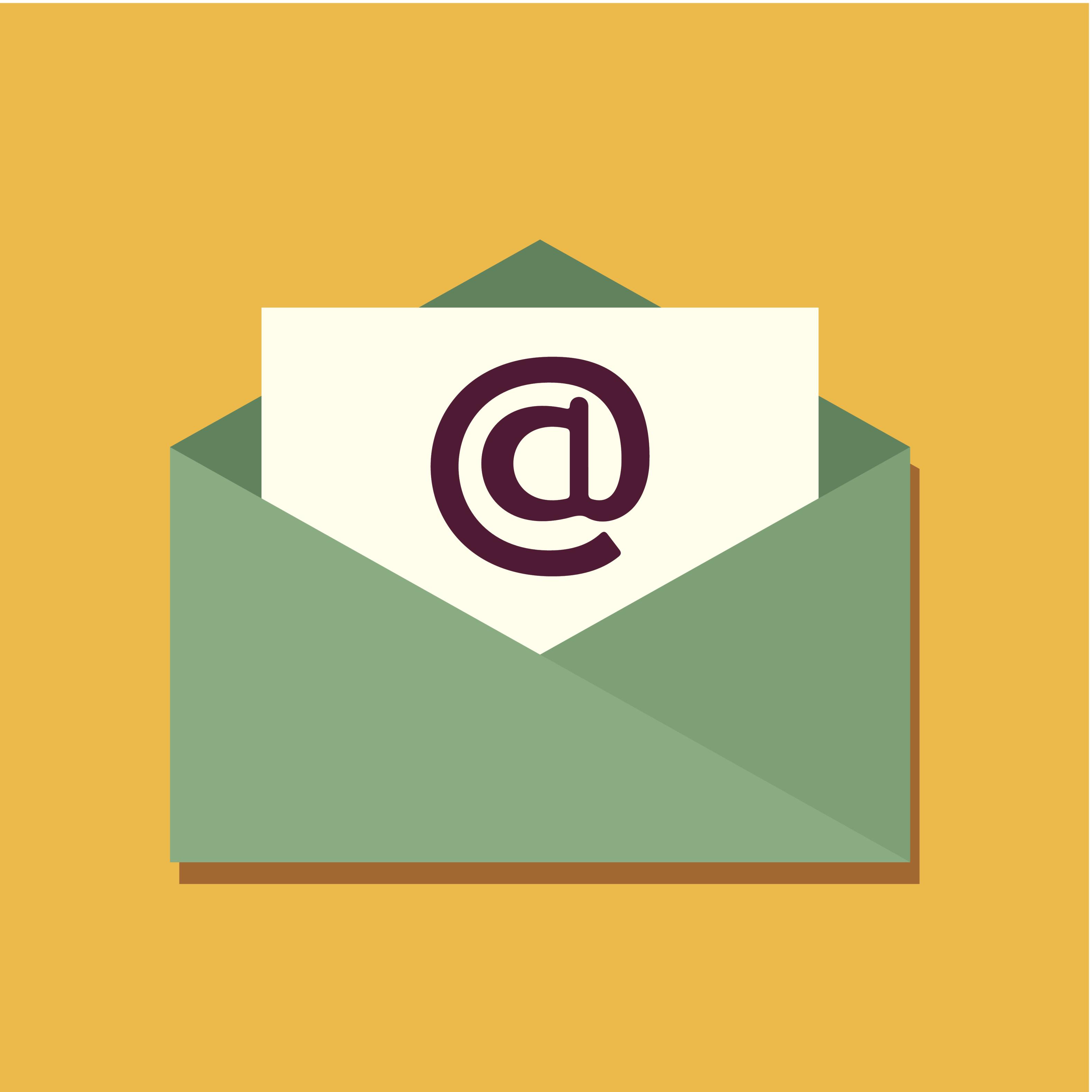Envelope icon. Email design