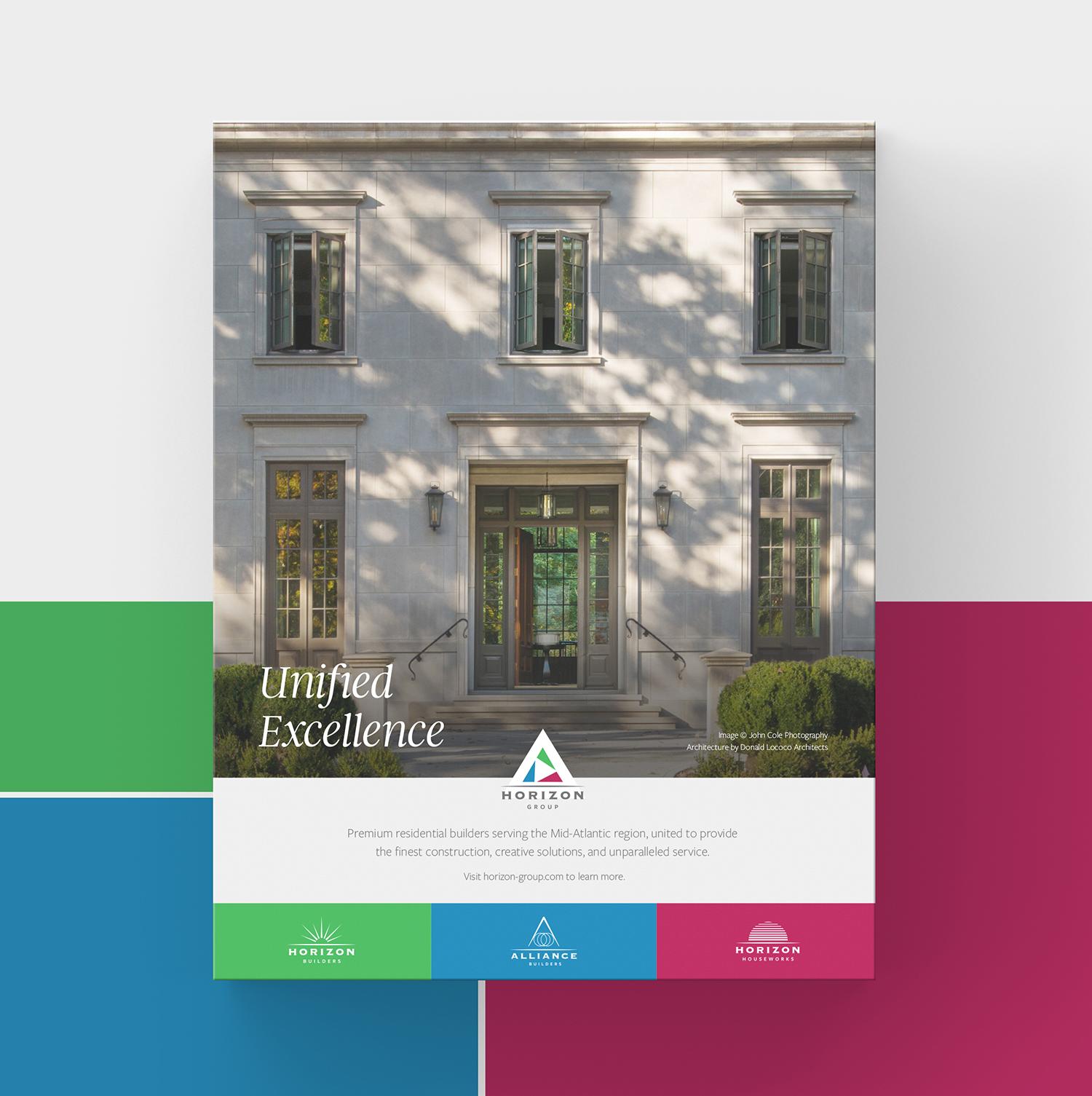 Horizon Builders brochure