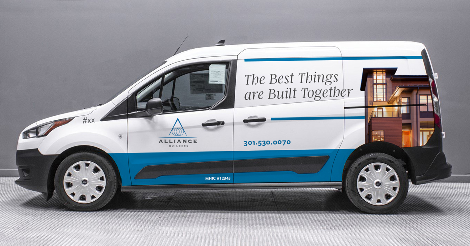 Alliance delivery truck
