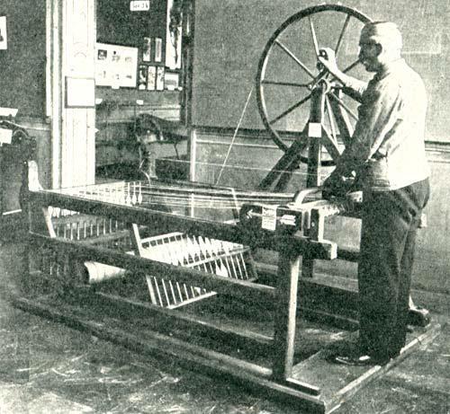 Die Spinning Jenny  leitete die Industrialisierung ein.