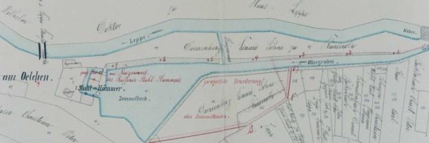 Situationsplan von 1873