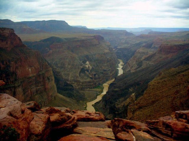 Ancora più remoto e isolato: Toroweap point (Arizona)