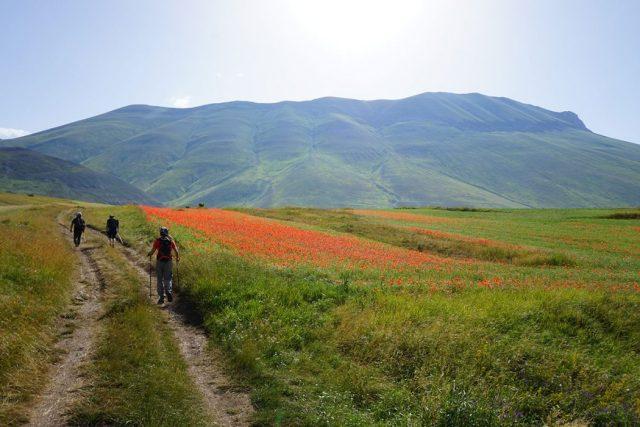 Avvio tonico verso Capanna Ghezzi