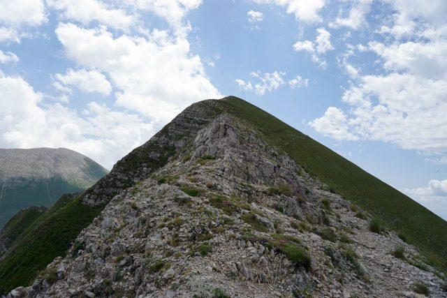 Cresta del Redentore: arcigna e esposta