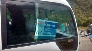 Carretera Austral: bus