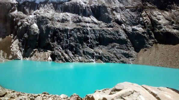 Laguna glaciale Cerro Castillo