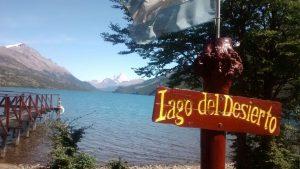Lago Desierto sponda nord