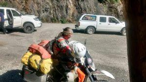 Carretera Austral: moto