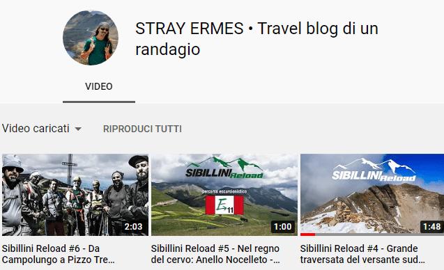 C'è anche un canale YouTube