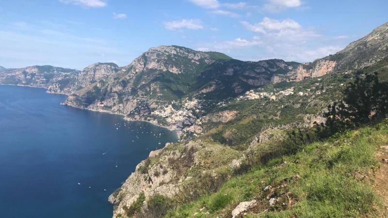 Sentiero degli Dei: guida al trekking da Bomerano a Positano