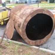 Underground Leak Tank