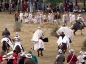 Inszenierung der Tannenbergsschlacht 2014, Foto: Rimantas Lazdynas, public domain