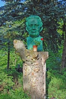 Büste des Dichters Konstanty Ildefons Gałczyński, Foto: © Brigitte Jäger-Dabek
