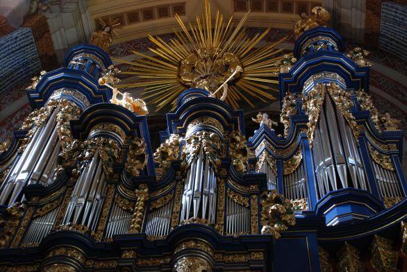 Orgel der Wallfahrtskirche Heilige Linde/Swieta Lipka in Masuren, Foto: B. Jäger-Dabek