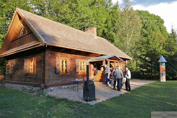 Kulturhaus bei der Residence Rousseau, Foto: (c) Wisent Reisen
