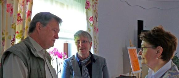 B. Jäger-Dabek mit Bischof janusz Jagucki und seiner Frau, Foto: (c) B.Jäger-Dabek