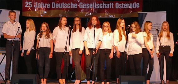 """Chor """"Kammerton"""" aus Bielec, Foto: (c) B.Jäger-Dabek"""