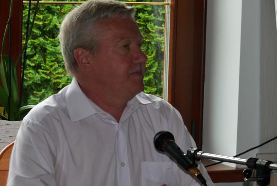 Referent Prof. Dr. Andrzej Saxon, Foto: Brigitte Jäger-Dabek