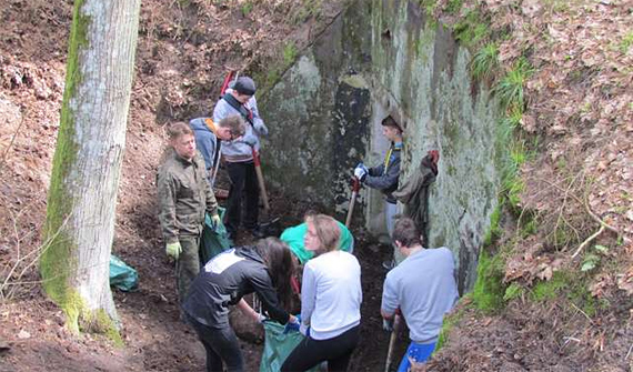Bunker bei Spychowo Foto: © Forstverwaltung Spychowo http://www.spychowo.olsztyn.lasy.gov.pl/