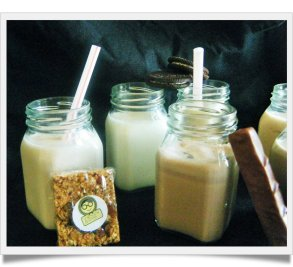 Granola Yoghurt Smoothie