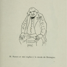 Caricature de Willy, dans <i> Comic - Salon</i>, 1892