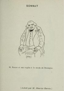 Caricature de Willy, dans <i> Comic - Salon</i>, 1892