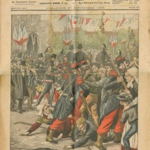 Inauguration de la statue de Renan. Les incidents à Tréguier (Le petit journal, 1903)