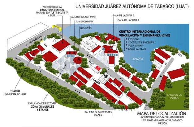 mapa ujat fisica universidad