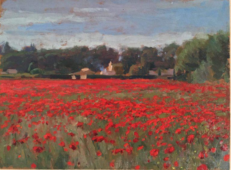 Avignon Poppies