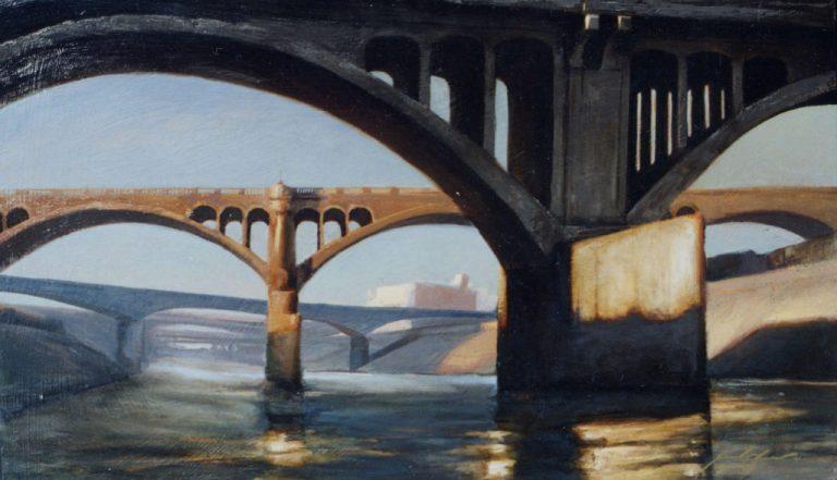 L.A.bridge