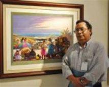 Mauricio Mejía, Pintor