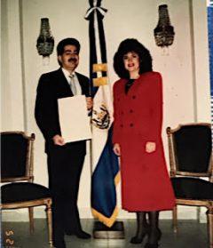 Día de Entrega de Credenciales como Embajador al presidente de Paraguay