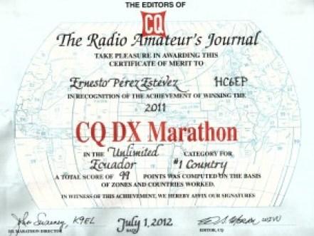 CQ-DX-Marathon-2011
