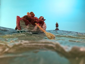 Octopus Rowboat