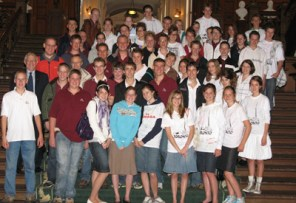 Rehoboth Christian School visit to the Ontario Legislature
