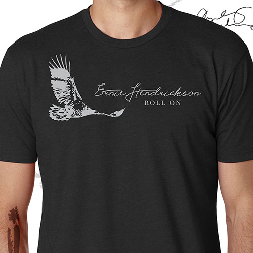 Ernie Hendrickson - Men's Roll On T-Shirt
