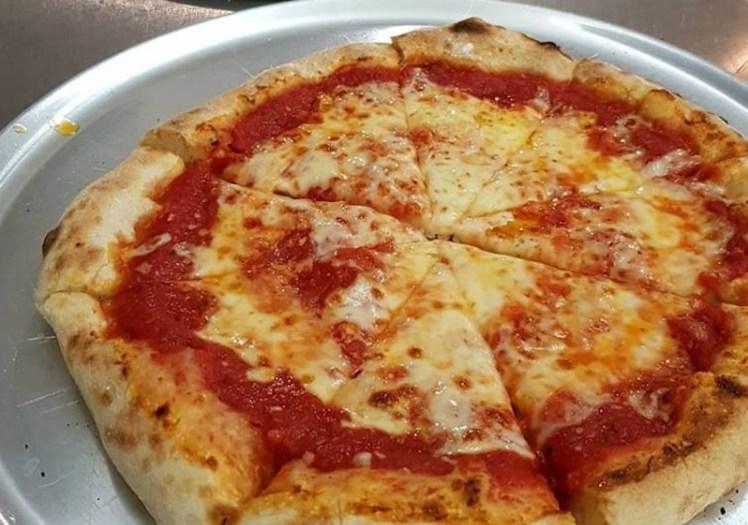 Margherita pizza from Cowabunga Pizza, Mersea