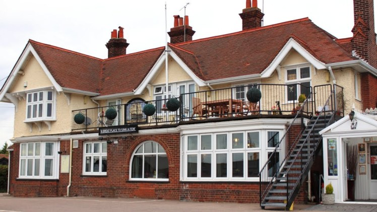 Exterior of The Victory at Mersea