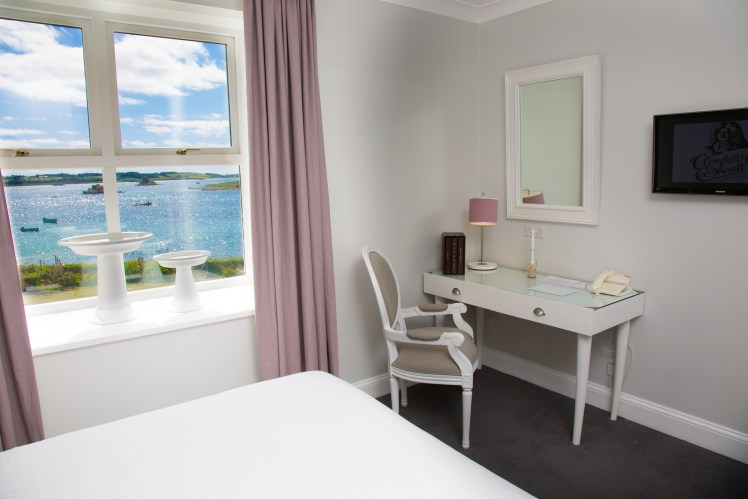 Ocean view room at Karma St Martin's, Isles of Scilly