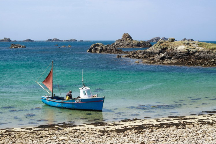 Fisherman on the Isles of Scilly