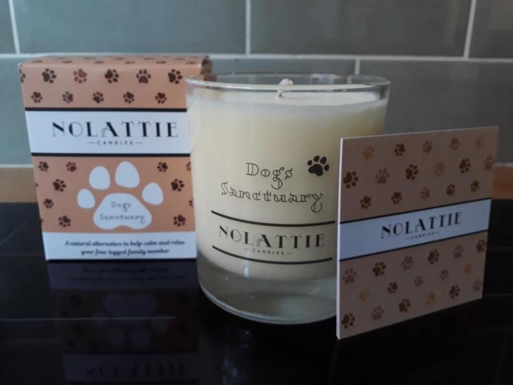 Nolattie Dogs' Sanctuary candle