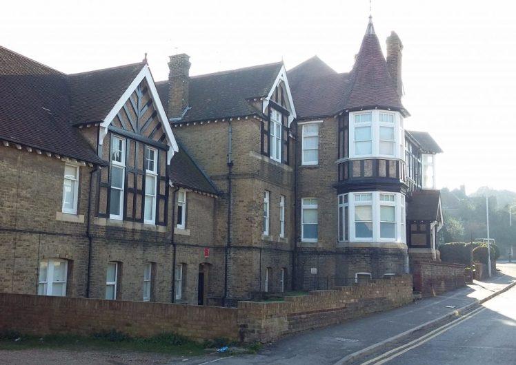 Former hospital building in Margate where you'll find Brooklyn Lodge