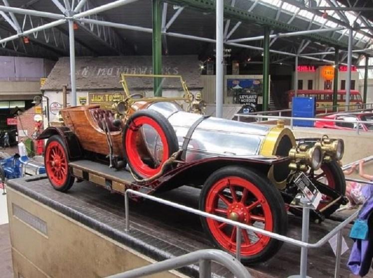 Car from Chitty Chitty Bang Bang at Beaulieu National Motor Museum