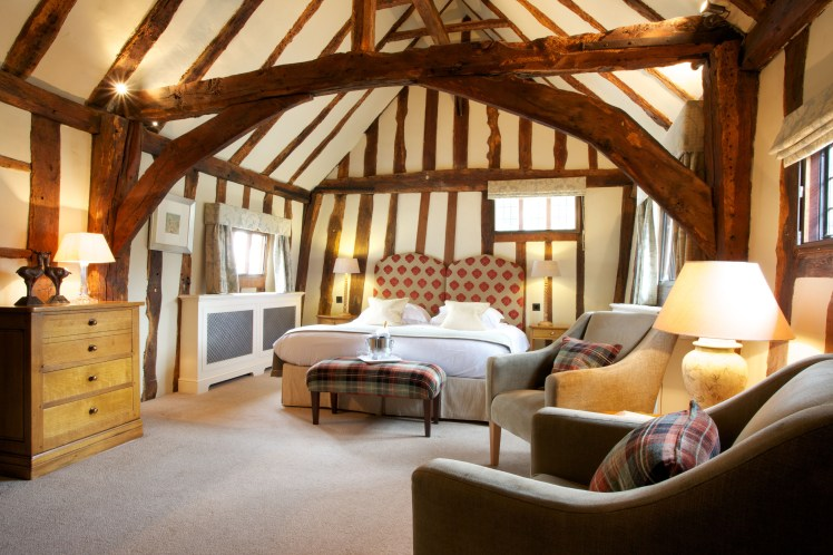 Wooden-beamed Stanstead Suite at The Swan at Lavenham