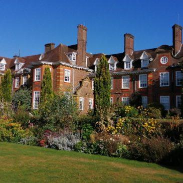 Exterior of Barnett Hill, Surrey