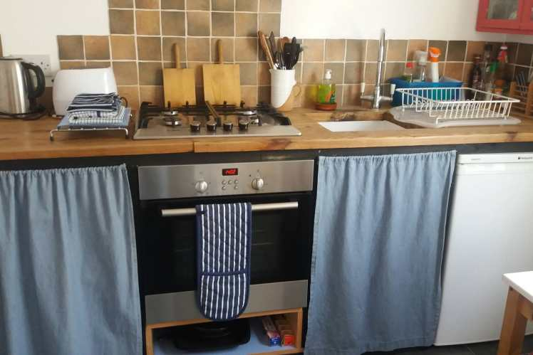 Kitchen at Harbour Cottage, Whitstable