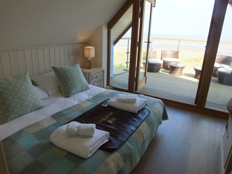Bedroom at Beach Cottage, Anderby Creek