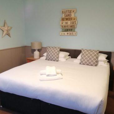 Bedroom at the Blazing Donkey